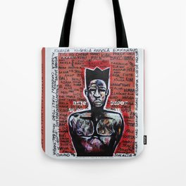 2014 AXUM MAN OF ALL TRIBES  Tote Bag