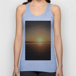 Pismo Beach Sunset Unisex Tank Top