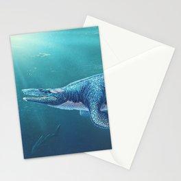 Tylosaurus Pembinensis Restored Stationery Cards