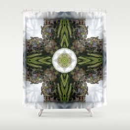 Rise: Corniglia Shower Curtain