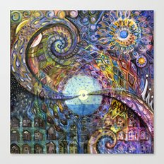 Water Consciousness Canvas Print