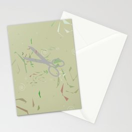 Playful Paper Cuts Stationery Cards