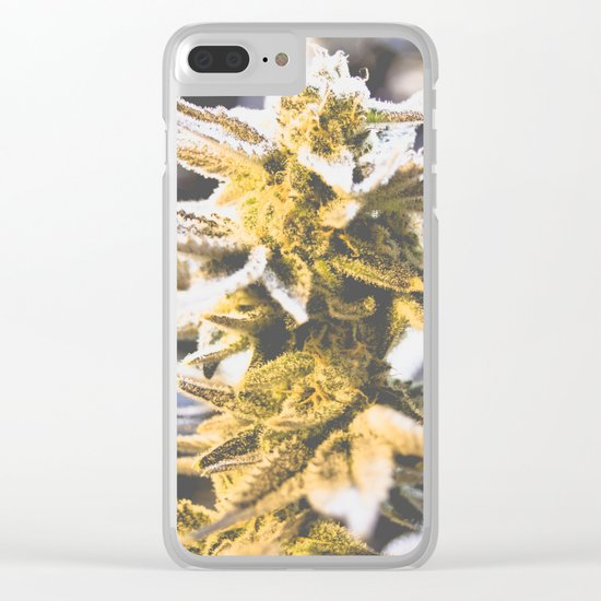 Beautiful Flower Clear iPhone Case
