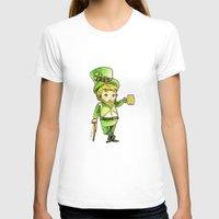 niall T-shirts featuring Leprechaun Niall by Drawpassionn