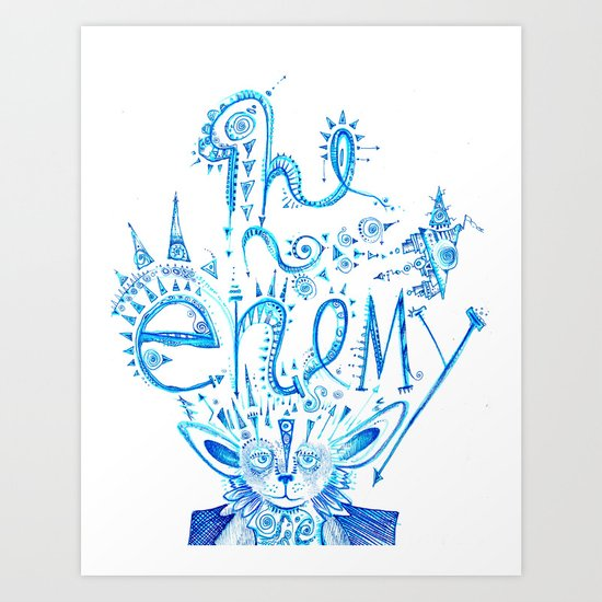 The Enemy  Art Print