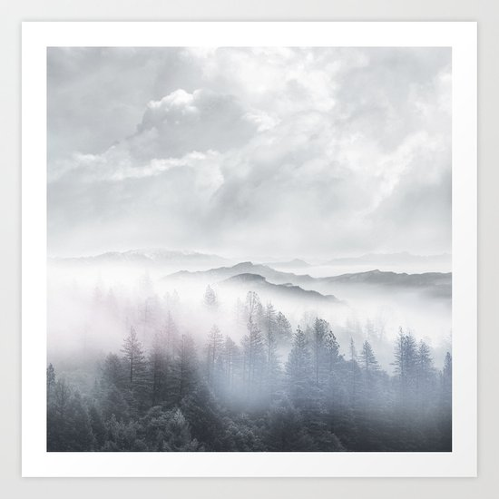 Magic in the Clouds V Art Print