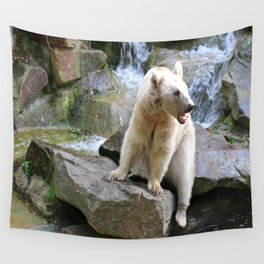 Syrian Brown Bear Wall Tapestry