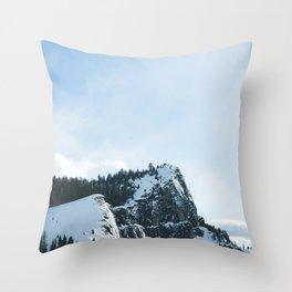 South Lake Tahoe Mountains Throw Pillow