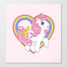 g1 my little pony sundance Canvas Print