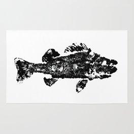 Printed Fish (Gyotaku) Rug