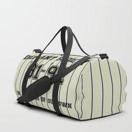 baseball season Duffle Bag