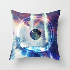 On the Biggest Moon Throw Pillow