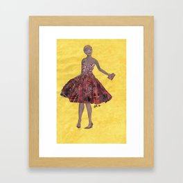 Collage Collection - Angie Framed Art Print