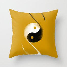 balance music Throw Pillow