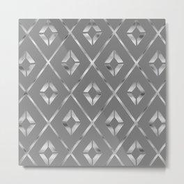 sterling silver prism Metal Print