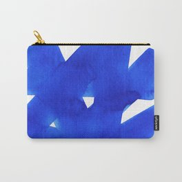 Superwatercolor Blue Carry-All Pouch