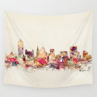memphis Wall Tapestries featuring memphis tennessee by bri.buckley