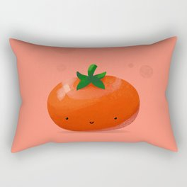 Happy Tomato Rectangular Pillow