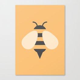 #81 Bee Canvas Print