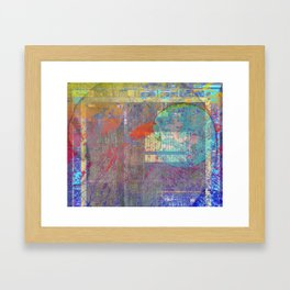 Weather System no. 2 Framed Art Print