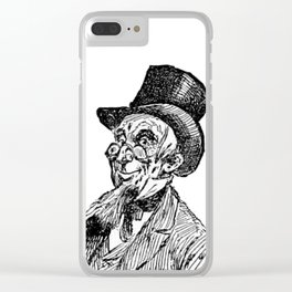 Hat 2 Clear iPhone Case