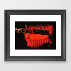 Anything Is Peaceful from One Thousand Three Hundred and Fifty Feet Framed Art Print