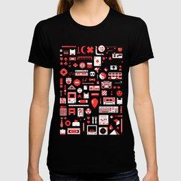 """Childhood Memories"" pixel art poster T-shirt"