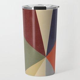 Mature Color Block Travel Mug