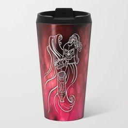 Wolf Knight: Red Travel Mug