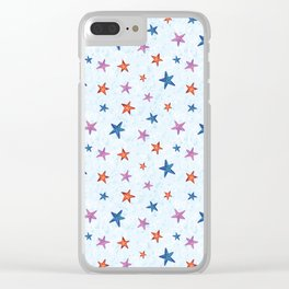 Starfishes Clear iPhone Case