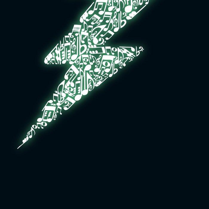 Electro music Leggings