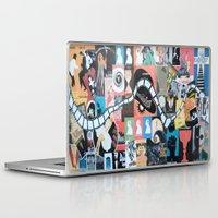 movie posters Laptop & iPad Skins featuring Movie Night.. by Porfyra