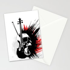 ViolinScull Stationery Cards