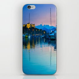 Port Vauban Antibes iPhone Skin