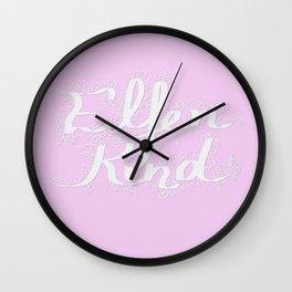 Elfenkind (Child of an Elf) Wall Clock