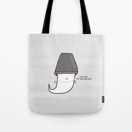 Bucket Ghost Tote Bag