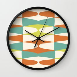 Zaha Lime Wall Clock