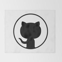 Github Logo Throw Blanket
