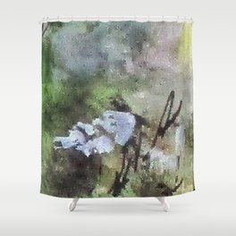 Digital Abstract No4. Shower Curtain