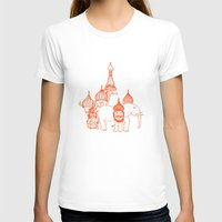 moscow T-shirts featuring Moscow by OneOneTwo