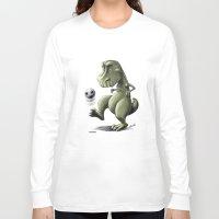 football Long Sleeve T-shirts featuring Football! by Allan McInnes