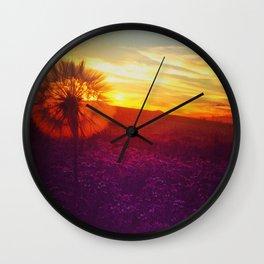 The dandelion Wall Clock