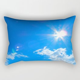 Sun, clouds Rectangular Pillow