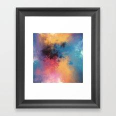 Golden Virus Framed Art Print