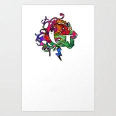 G gama Art Print