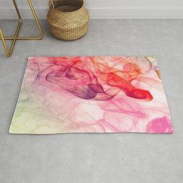 Summer Magic Minimal Abstract Watercolor  #decor  Rug