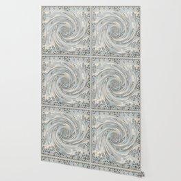 GRAY SAFARI FLOW Wallpaper