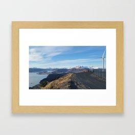Kodiak Sky Framed Art Print