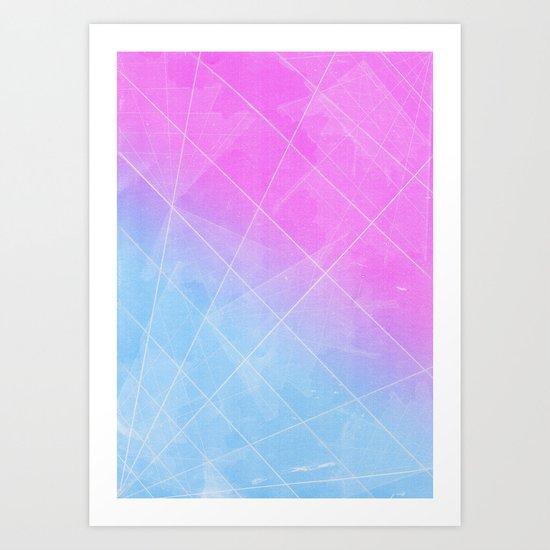 cobweb Pattern Art Print