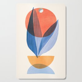 Summer Stack II / Abstract Landscape Cutting Board